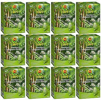 Sparset: 12 × COMPO الخيزران الأسمدة على المدى الطويل، 700 غرام