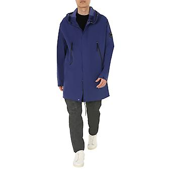 C.p. Company 08cmow002a004117a878 Men's Blue Polyester Outerwear Jacket