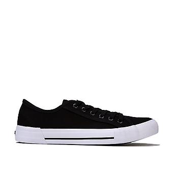Men's NICCE Kansas Low Trainers in Black