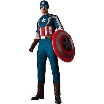 Retro Captain America volwassen kostuum