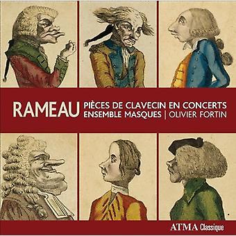 J. p. ラモー - ラモー: Pi Ces ドゥ クラヴサン En コンサート 【 CD 】 USA 輸入