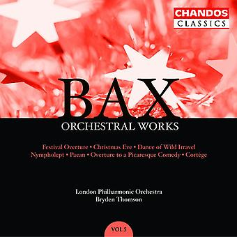 A. Bax - Bax: Orchestral Works, Vol. 5 [CD] USA import