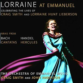 Lorraine Hunt Lieberson - Lorraine at Emmanuel [CD] USA import