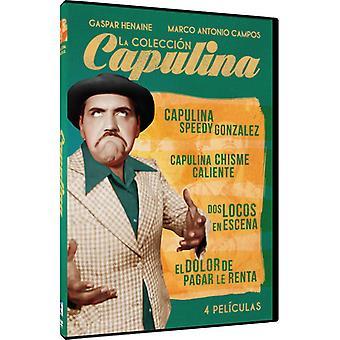 Capulina Coleccion: 4 Peliculas [DVD] USA import