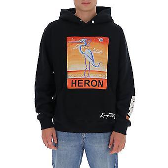 Heron Preston Hmbb010f20jer0091020 Men's Black Cotton Sweatshirt
