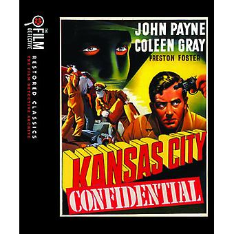 Kansas City Confidential [Blu-ray] USA import