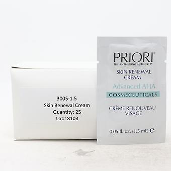 Priori Skin Renewal Cream Pack Of 25  / New