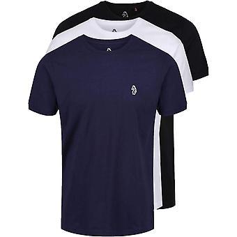 Luke 1977 Johnys 3 Pack T-Shirts Black 41