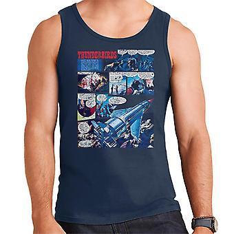 Thunderbirds Comic Page Men's Vest
