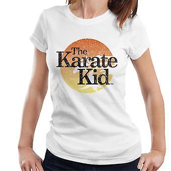 Karate Kid Distressed Logo Women's T-Shirt