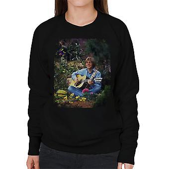 TV keer John Denver Perfomring op de Muppet Show Women's Sweatshirt