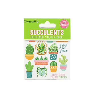 Dovecraft Succulents Sticker Book