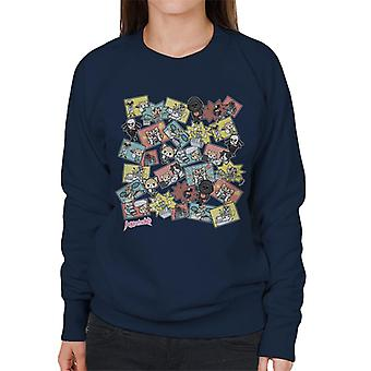 Aggretsuko Montasje Kvinner's Sweatshirt