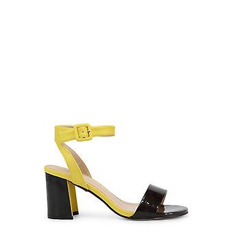 Laura biagiotti 6300 mulheres'sandálias de couro de patente sintética