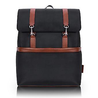 "78475, U Series, Element 17"" Nylon, Two-Tone, Flap-Over, Laptop & Tablet Backpack - Black"