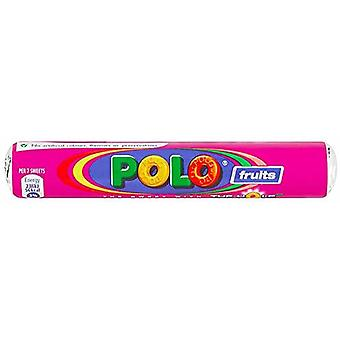 NESTLE POLO Fruits Box of 48 Rolls of 37g Tubes