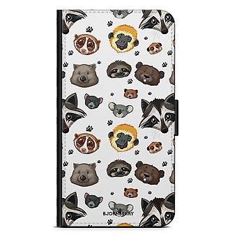 Bjornberry Brieftasche Fall LG G5 - Tiere
