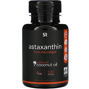 Sports Research, Astaxanthine met kokosolie, 6 mg, 120 Softgels