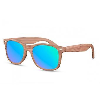 Sunglasses Unisex Traveler Cat.3 Brown/Blue (CWI1473)