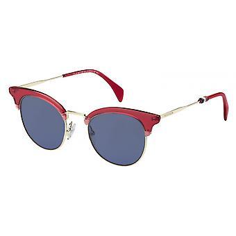 משקפי שמש בגדי ריקוד נשים TH 1539/SC9A/KU זהב/אדום