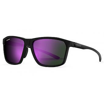 Aurinkolasit Unisex Pinpoint musta/violetti