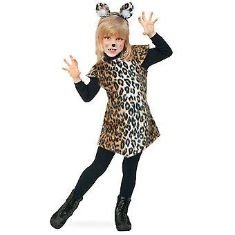 Kissa Schnucki Lasten puku Kissanpentu Leopard Wildcat