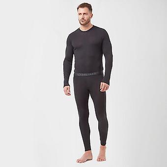 Icebreaker Men's Merino 175 Everyday Thermal Leggings Zwart