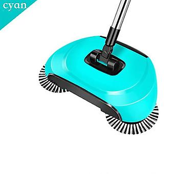 Magic Broom Stainless Steel Sweeper Dustpan Handle Household Hand Push Cleaner Household Cleaning Tools 3 In 1 Accessory