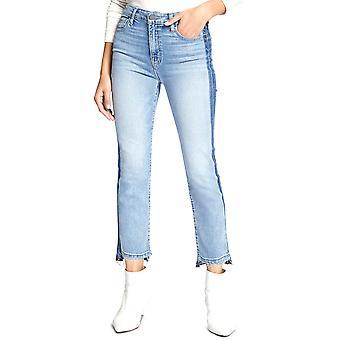 Helligdom | Moderne Colorblocked Capri Jeans