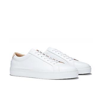 Uniform Standard Series 1 Original White Leather Trainers