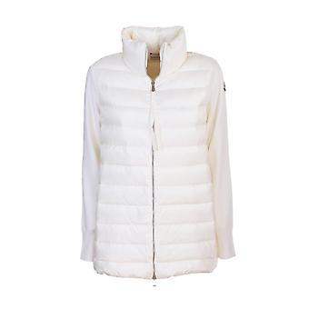 Moncler 9b51200a9018030 Mujer's Suéter de lana blanca