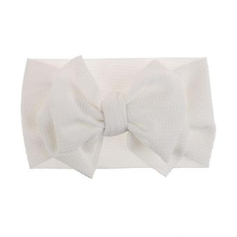 Fit All Baby Large Bow Girls Headband Big Bowknot Headwrap Kids For Hair Cotton