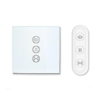 2nd Generation- Eu Wifi Curtain Switch For Electric Motorized Blinds With Remote Control