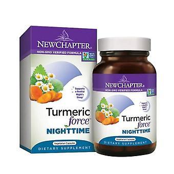 New Chapter Turmeric Force Nighttime, 60 Veg Caps