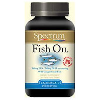 Spectrum Essentials Omega 3 Cold Pressed Norwegian Fish Oil, 100 Cap