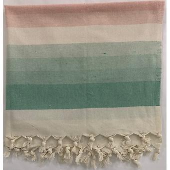 Aqua Perla otomana toalla turca Somon algodón peshtemal