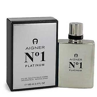 Aigner No. 1 Platinum By Etienne Aigner Eau De Toilette Spray 3.4 Oz (men) V728-543606