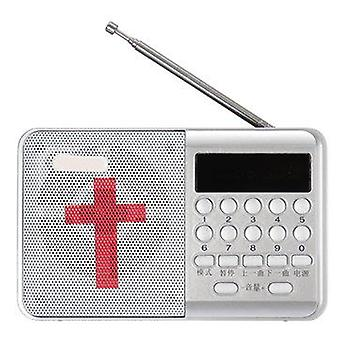 Rechargeable Electronic Bible MP3 Audio Player Built-in Loud Speaker Mini Radio