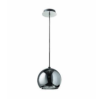 Moderne hangende hanghanger Chrome 1 Light , E27