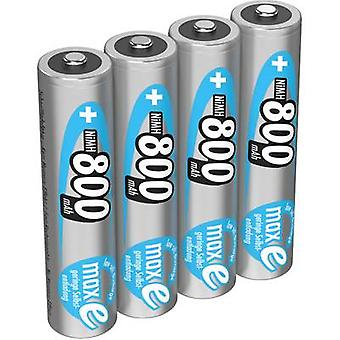 Ansmann maxE HR03 AAA battery (rechargeable) NiMH 800 mAh 1.2 V 4 pc(s)