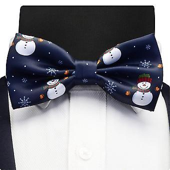 Christmas Tree Pattern Festival Theme  Bow Tie.