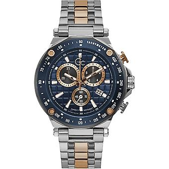 GC Y81003G7MF Men's Chronograph Two Tone Wristwatch