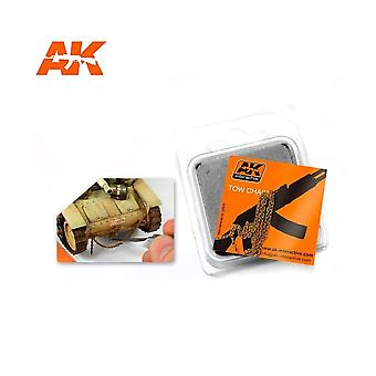 AK Interactive AK229 Rusty Tow Chain Small