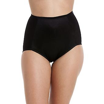 Camille Two Pack Black Full Support Shapewear Briefs