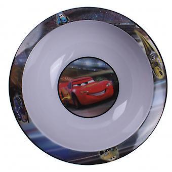 Kom Cars 2 - Bliksem Mcqueen 16 Cm Kunststof Wit / Rood