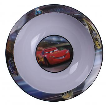 Bowl Cars 2 - Lightning Mcqueen 16 cm Kunststoff Weiß / Rot