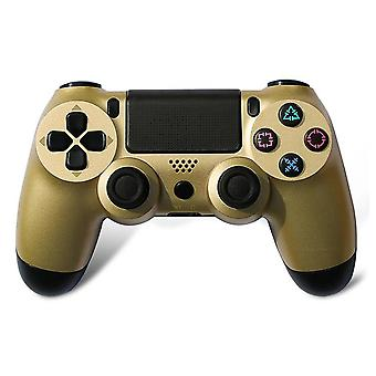 Wireless Game Console DualShock Bluetooth Controller For Sony PS4 Playstation 4 Gold