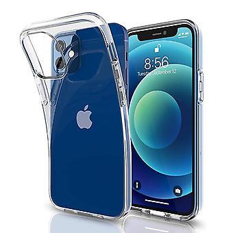 iCoverCase | iPhone 12 Mini | Gennemsigtig TPU Shell