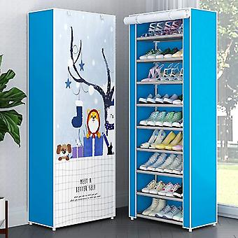 Multilayer Shoe Cabinet Dustproof Shoes Storage