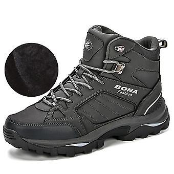 Short Plush Snow Boots